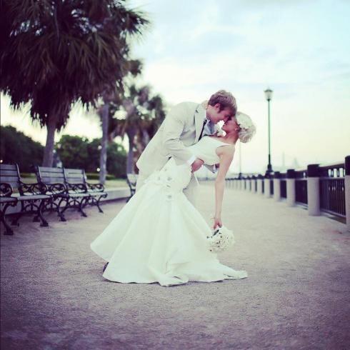 Charleston Wedding - Waterfront Park