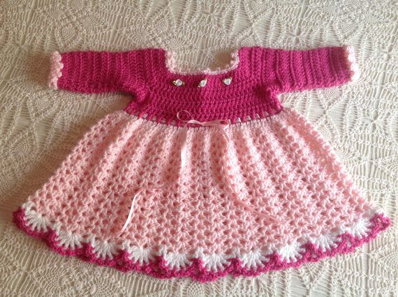 8f28346a0 Baby Dress Winter PATTERN 12 TO 18 Mth by JeansNeedles on Etsy ...