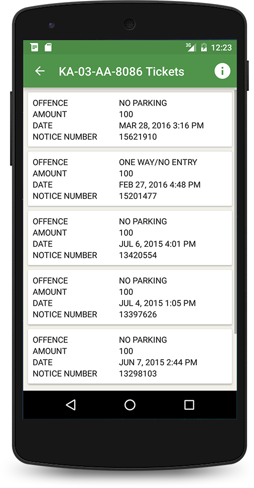 Speeding Ticket App >> Pin By Holbien Judson On Check Traffic Fine In Bangalore