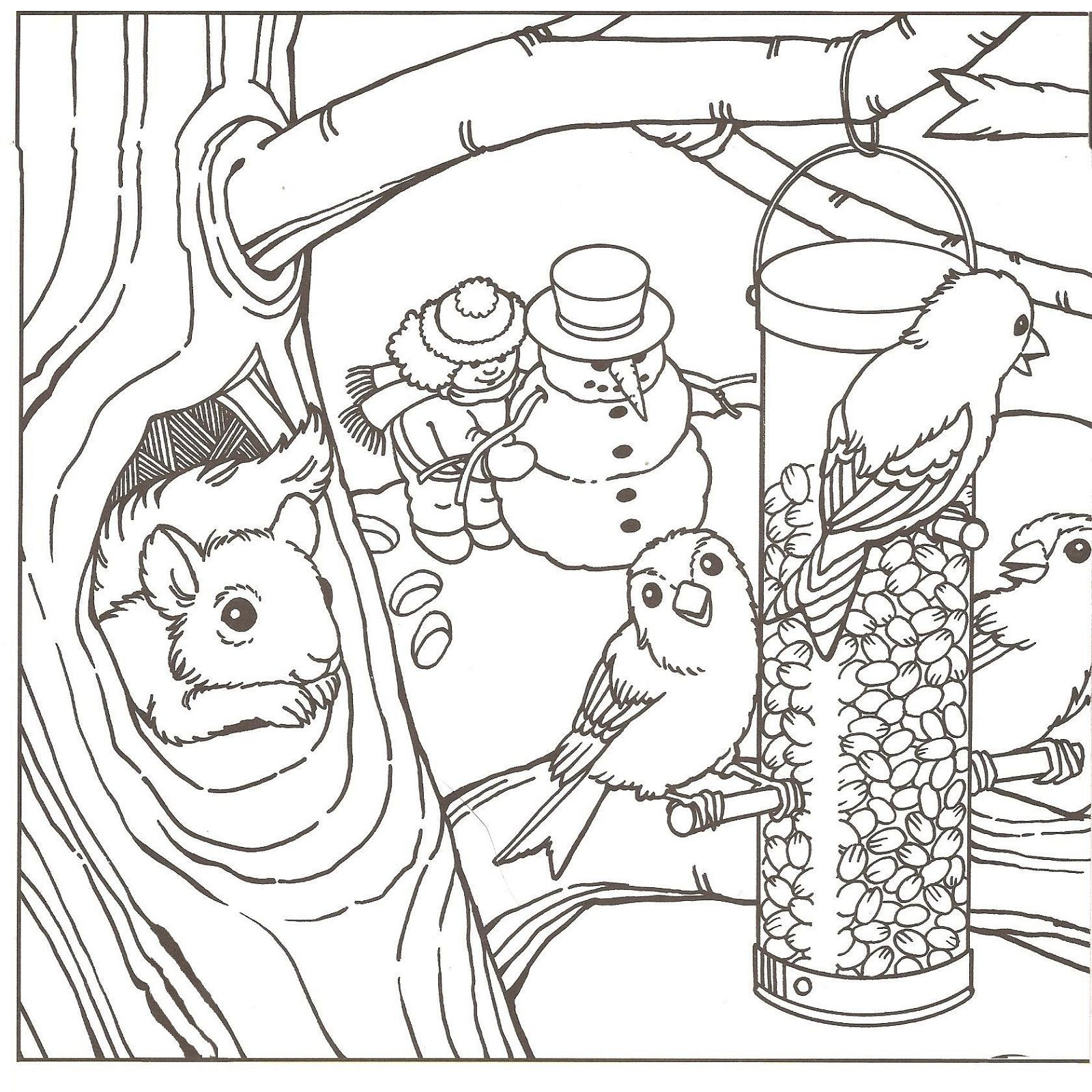 Beautiful Winter Coloring Pages Coloring Pages Winter Bird Coloring Pages Coloring Pages Inspirational