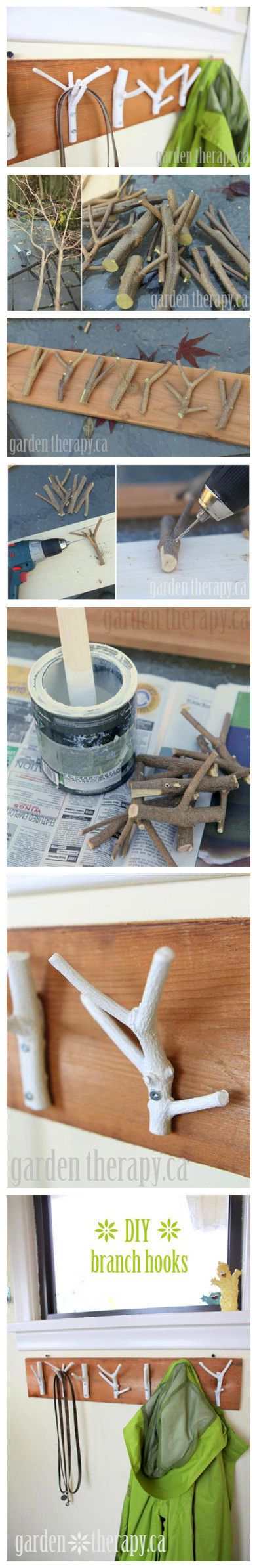 Do It Yourself- Coat Hanger with Brances