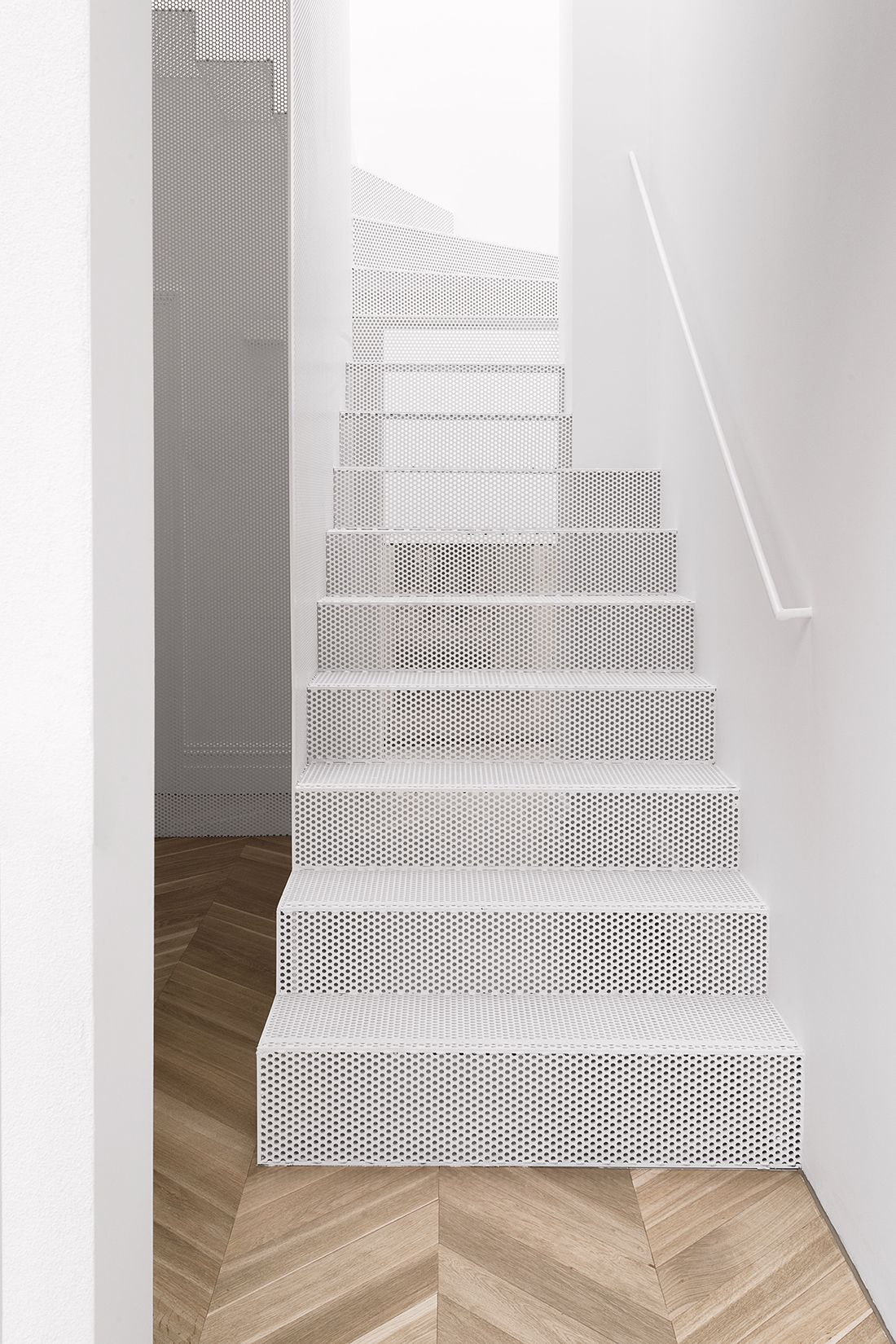 Best Perforated Metal Staircase By Renato D Ettorre 59 S T A 400 x 300