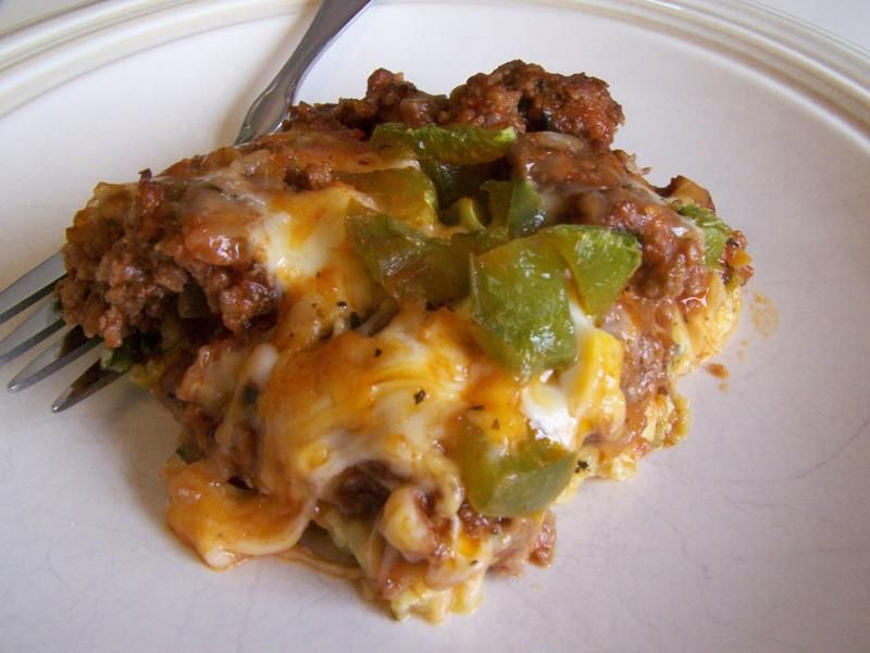 Easy Zucchini And Ground Beef Pizza Casserole Pizza Casserole Beef Pizza Zucchini Recipes