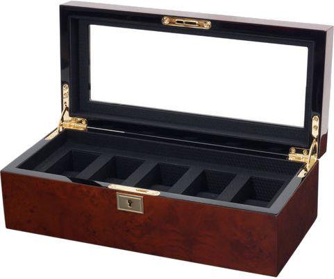 Wolf - Savoy - 5 Unit Watch Storage Box | 461510  sc 1 st  Pinterest & Wolf - Savoy - 5 Unit Watch Storage Box | 461510 | Watch storage box ...