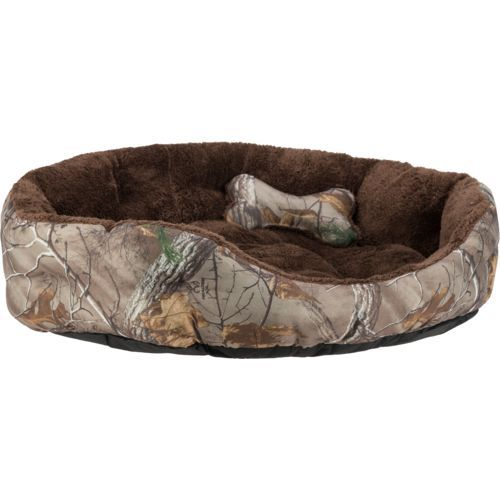 Magellan Outdoors Realtree Xtra Large 2 Piece Dog Bed And Plush Bone Toy Set Camo Dog Beds Dog Beds For Small Dogs Dog Bed