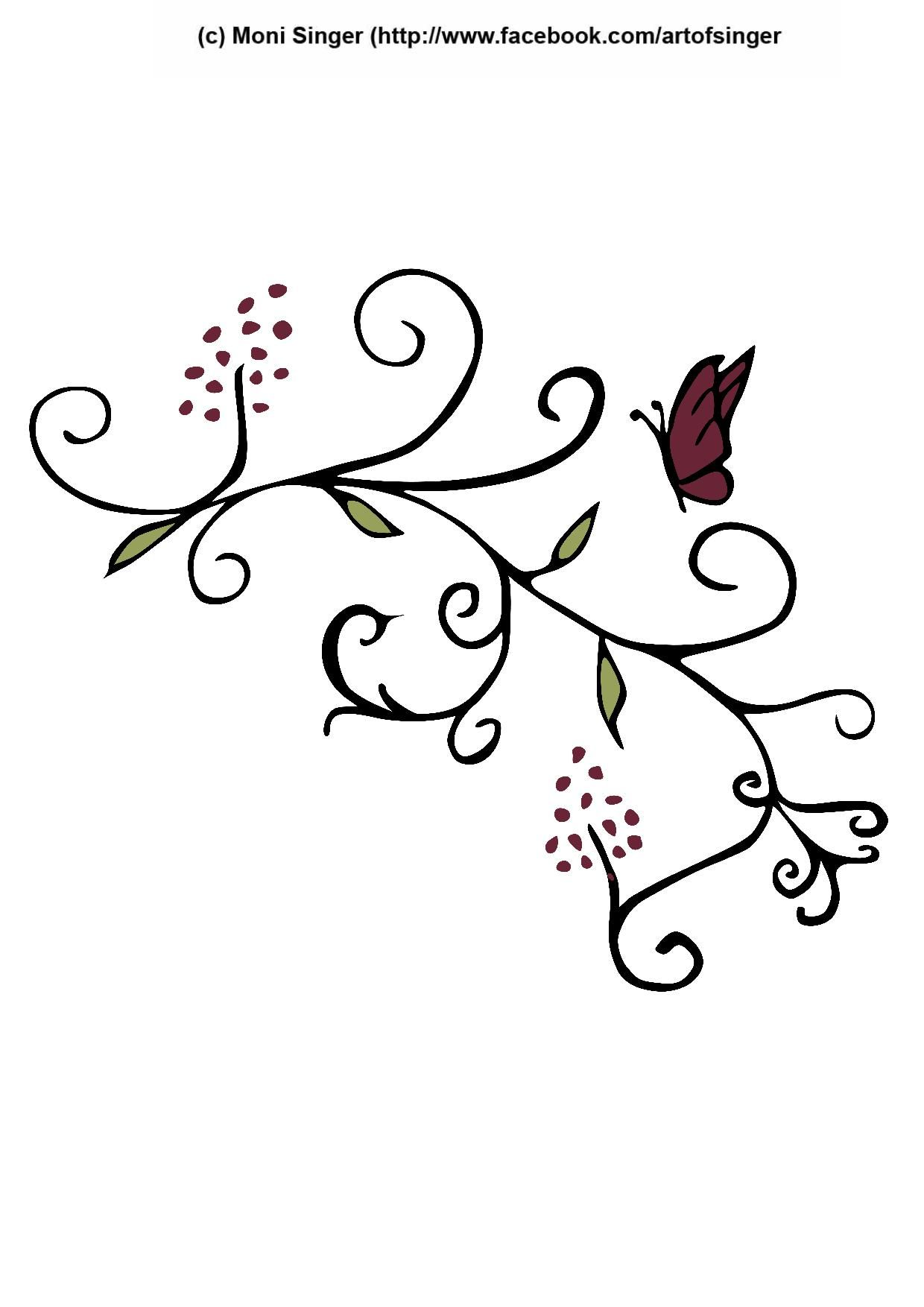Silhouette Plotter File Free Plotter Datei Kostenlos Plotter Freebie Flower Blumen Ornamente Ornamente Vorlagen Clipart Kostenlos Vorlagen