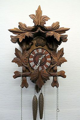 Old Wall Clock Cuckoo Original Of Schwarzwald Black Forest Reloj Cucu Reloj