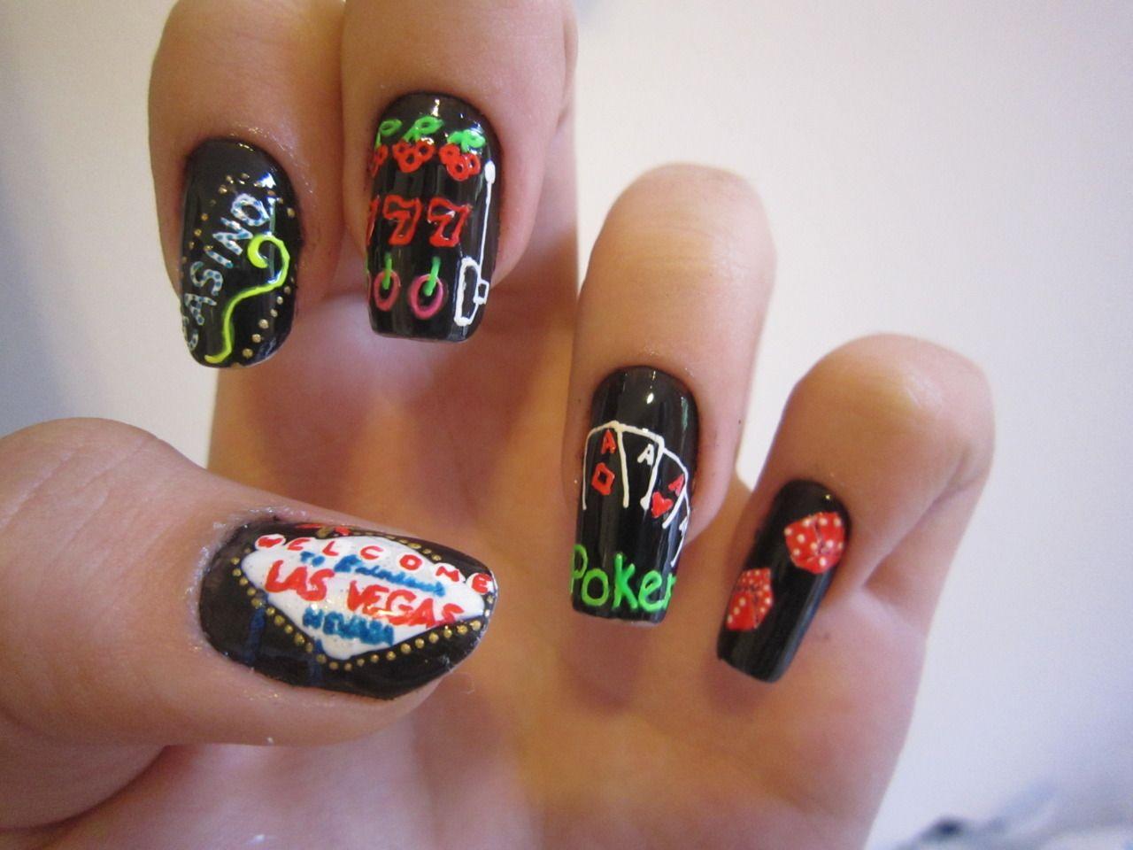 Las Vegas Nails   Vegas nail art, Vegas nails, Las vegas nails