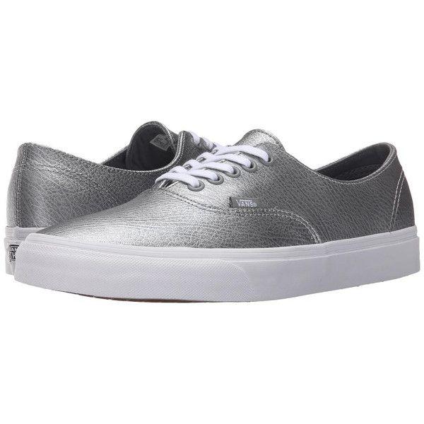 VANS Scotchgard Authentic Decon - (Metallic Leather) Gray  [shop-mg_ZP-8555004