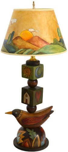 Stacked Object Lamp, Small