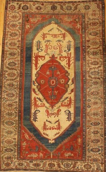 Persian Bakhshaish rug