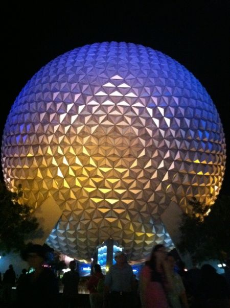 Epcot is beautiful in the nighttime. Disney World in general is fantastic and magical!