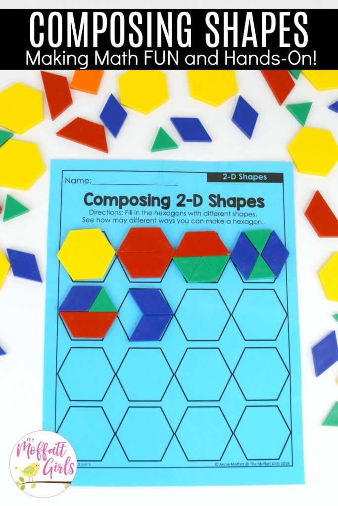 First Grade: Geometry | Math activities, Math and Activities