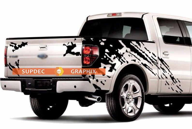 Mud Splash Graphics Vinyl Stickers Decals For Truck Pick Up Ford F 150 In 2020 Ford F150 Jeep Decals Vinyl Sticker