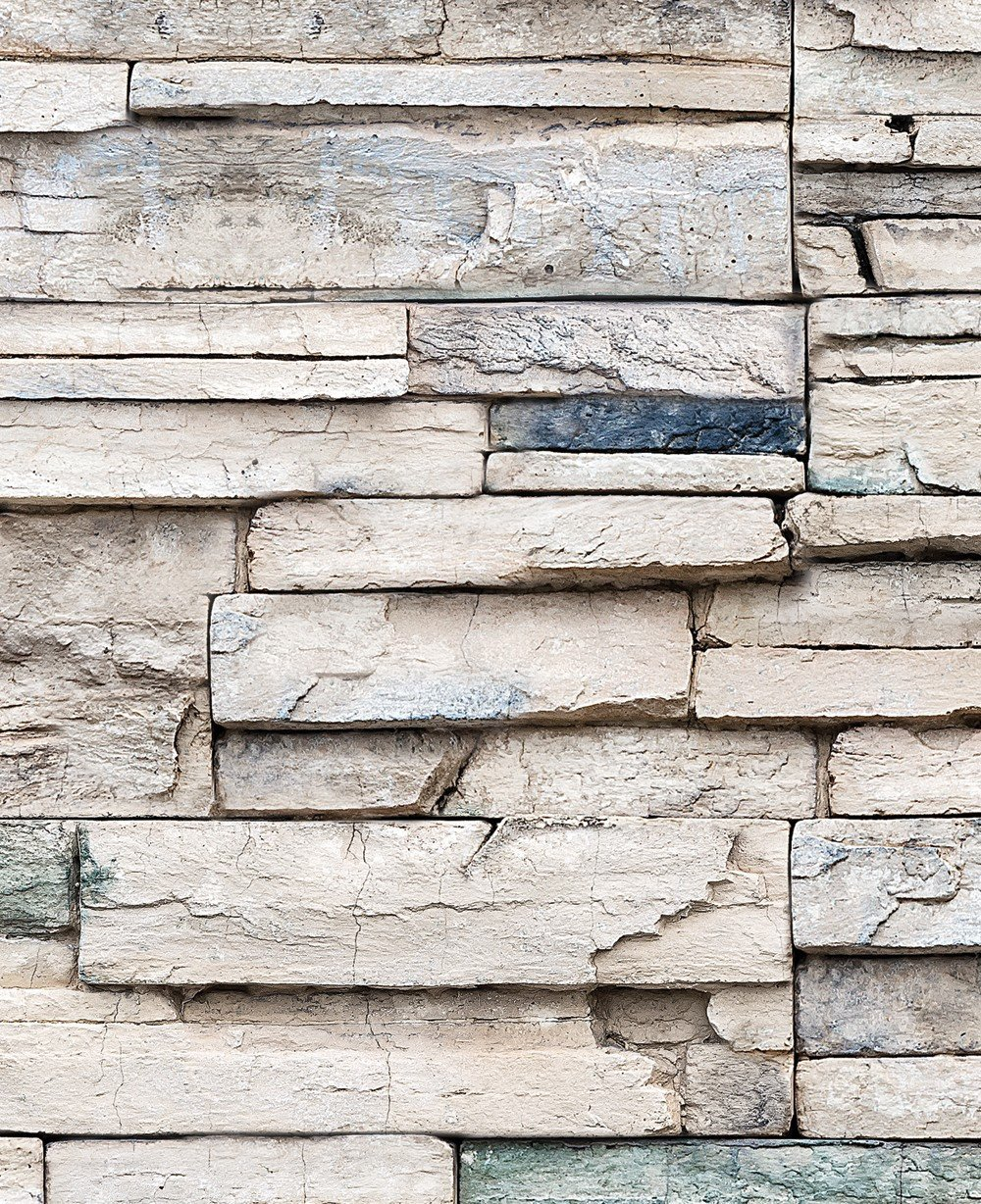 Faux Stone Wallpaper Peel And Stick Stone Wallpaper Faux Stone Stone Accent Walls