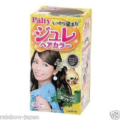 Dariya Palty Jelly Hair Color Cotton Ash hair Dye kit JAPAN