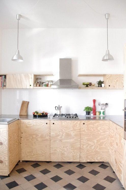 Bildergebnis für sperrholzküche | Küchen | Pinterest ...