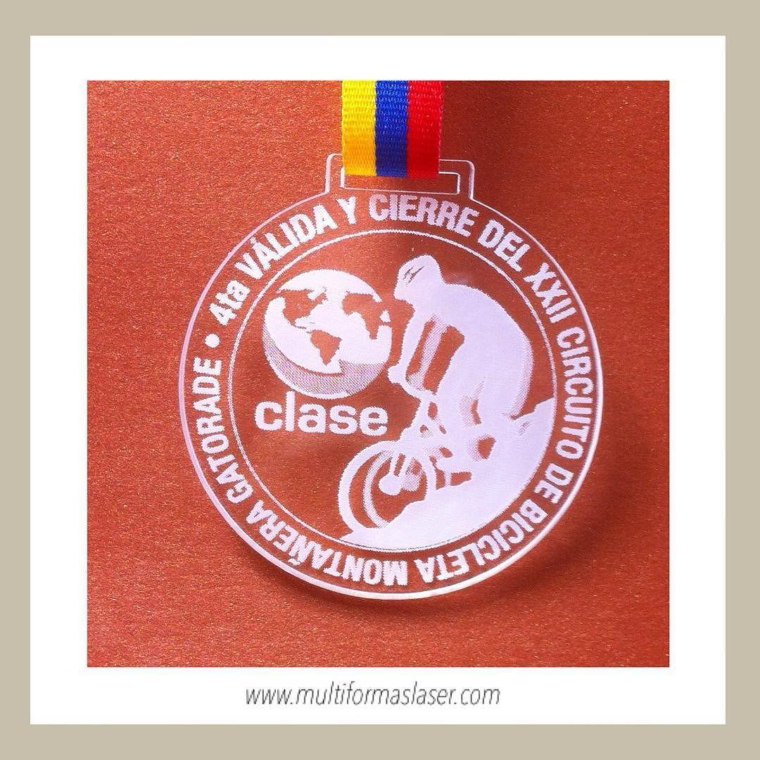 Medalla #carreras #carreras #bicicletamontañera #circuitobicicletamontañera #maraton #triatlonista #bicicleta #bicicletademontaña info@multiformaslaser.com
