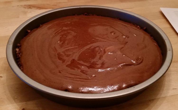Mocha Silk Pie —