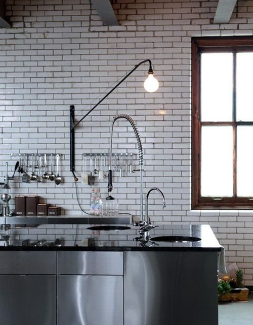 Designing an industrial kitchen without an industrial space blue tea kitchens