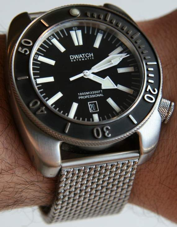 DWATCH 1000m Diving Watch Review
