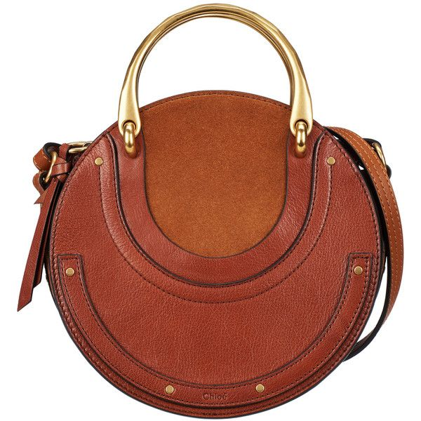 Chlo  Brown Small Pixie Handle Bag ( 1