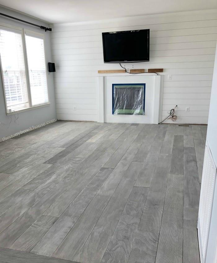 The Best Diy Plywood Floor A Pinterest Fail Turned Into A Win In 2020 Plywood Flooring Plywood Floor Plywood Flooring Diy