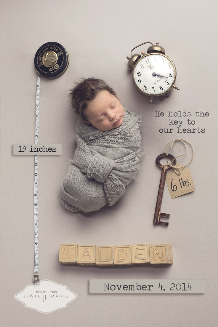 idée originale naissance bébé