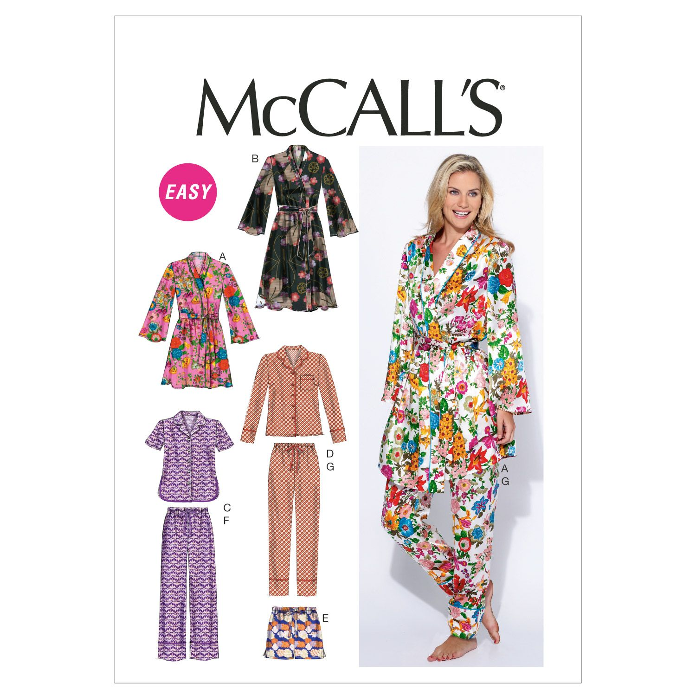 McCall\'s Misses Sleep & Lounge - M6659