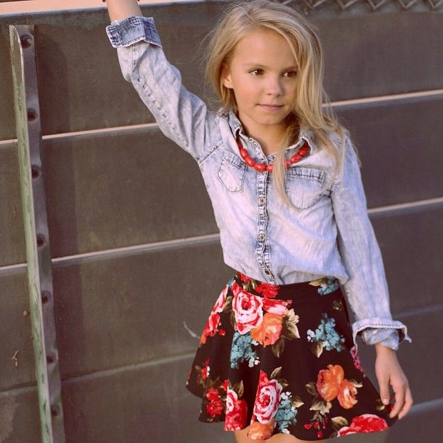Мagazine Fashion 17 Only Sweet Girls: Obsessed!! Floral Skater Skirt By @theweekendwardrobe