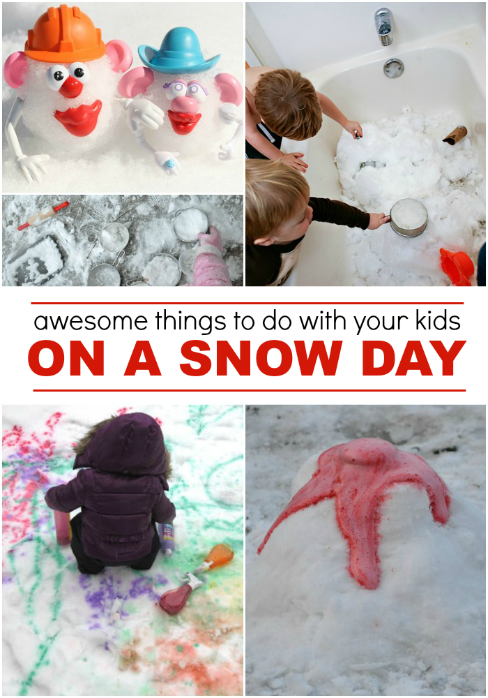 Snow Day Activities Your Kid Will Love - Love and Marriage