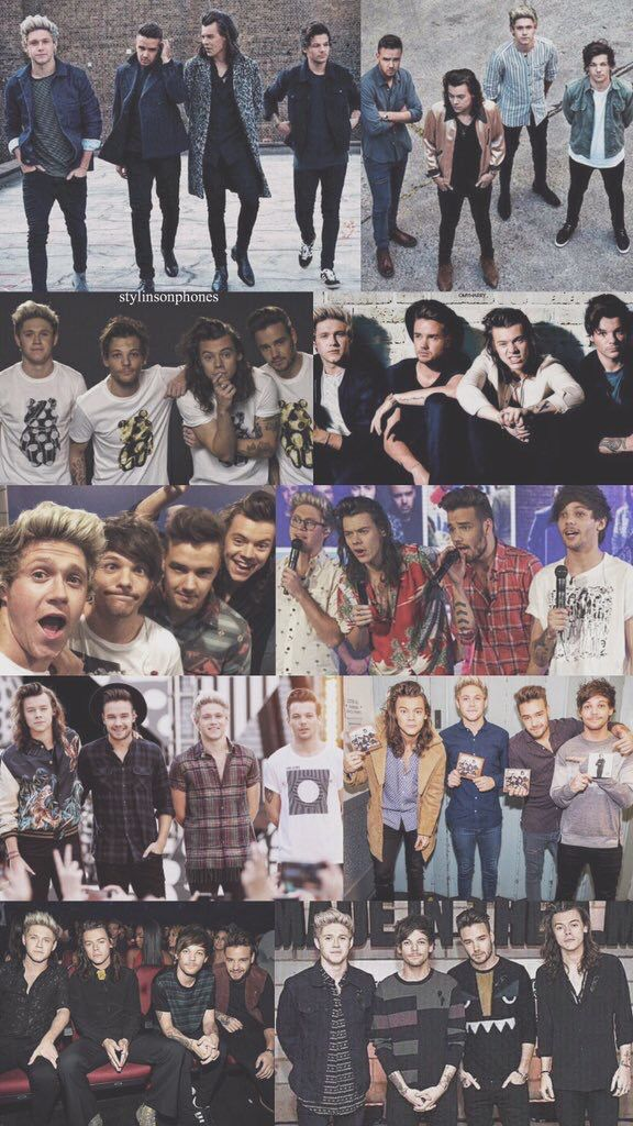 One Direction images One Direction Collage HD wallpaper ... |One Direction Collage Wallpaper