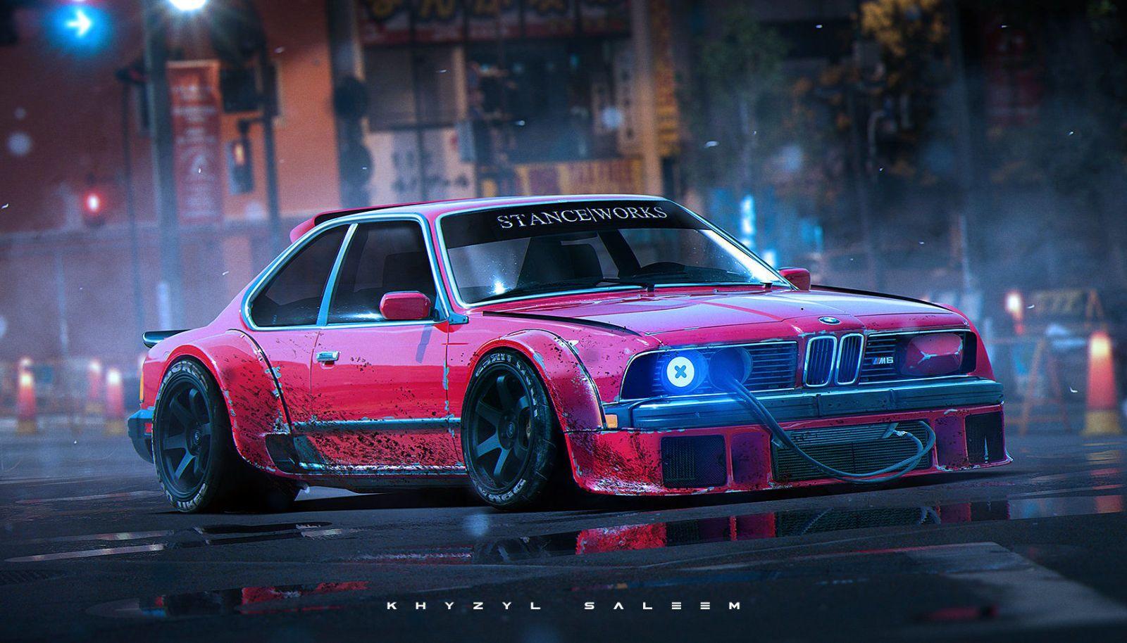 Classic Cars Reimagined In A Bosozoku Future Bmw M6 Car