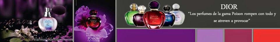 Dior,  fragancias poison. Únicas y misteriosas.♥