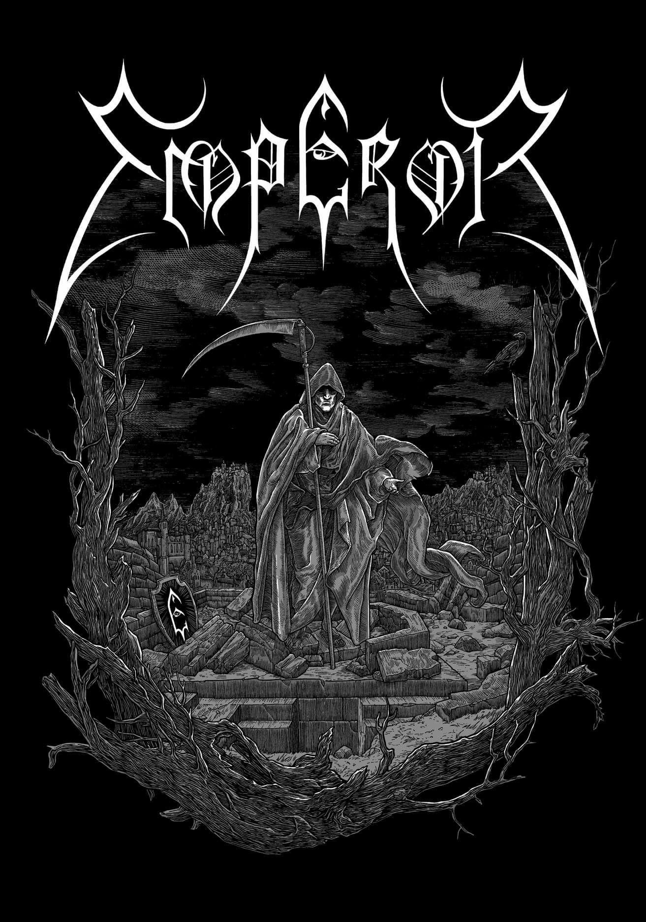 Emperor Black Metal Art Metal Band Logos Metal Music Bands
