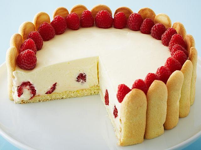 Receta Elegante torta de limón y frambuesa en casaclubtv.com