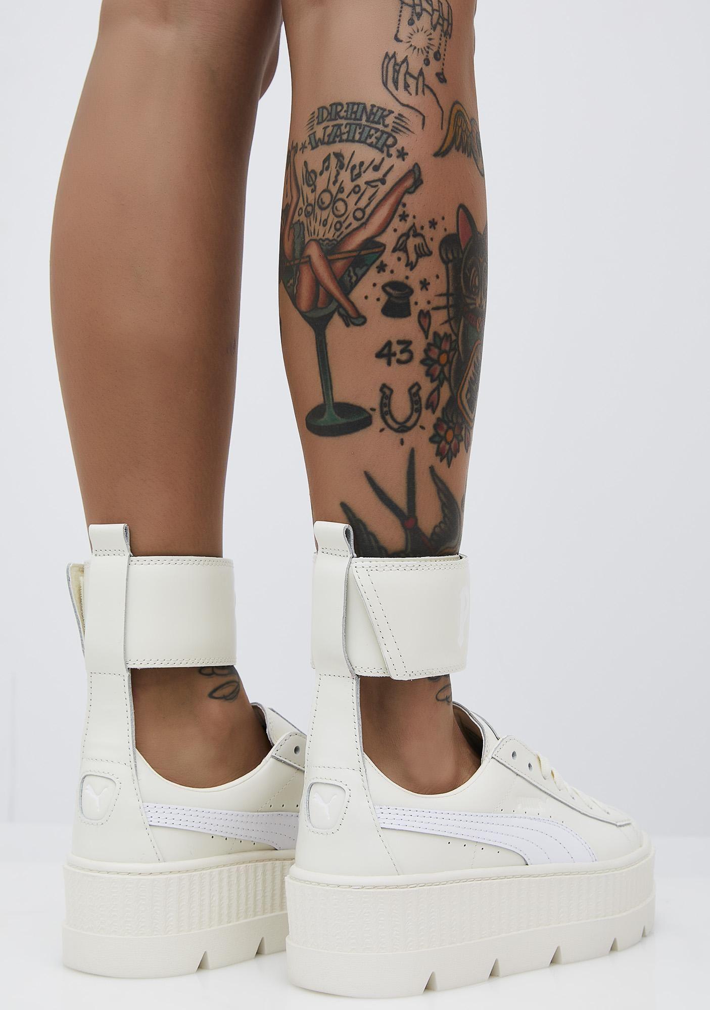 ef3e563d001 PUMA Vanilla FENTY PUMA by Rihanna Ankle Strap Sneaker