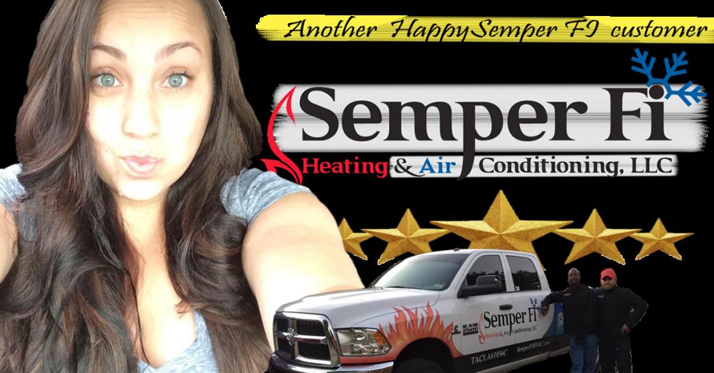 Semper Fi Hvac Review By Kelli Rivera Manning Semper Fi Heating