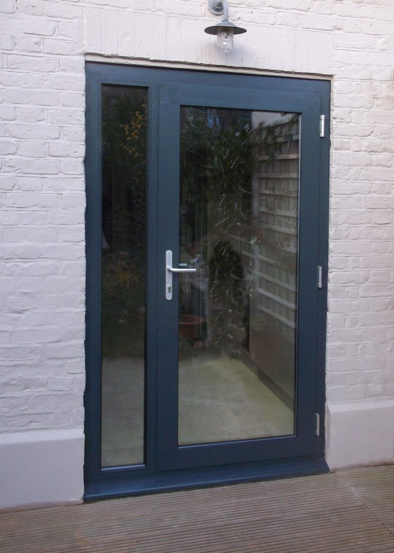 Patio Doorssingle Patio Door With Vented Sidelights French Venting