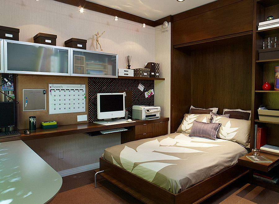 15 Small Guest Room Ideas with Space-Savvy Goodness. Office Guest  BedroomsGuest ...