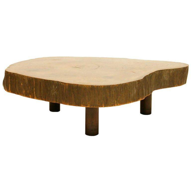 Tree Trunk Coffee Table By Joaquim Tenreiro See More Antique And Modern Coffee And Cocktail