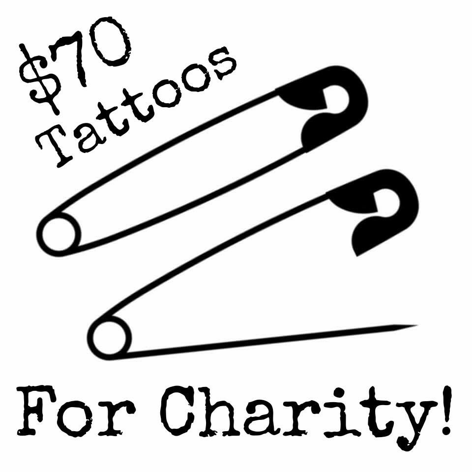 70 Safety Pin Tattoos For Charity Details Below The Safety Pin