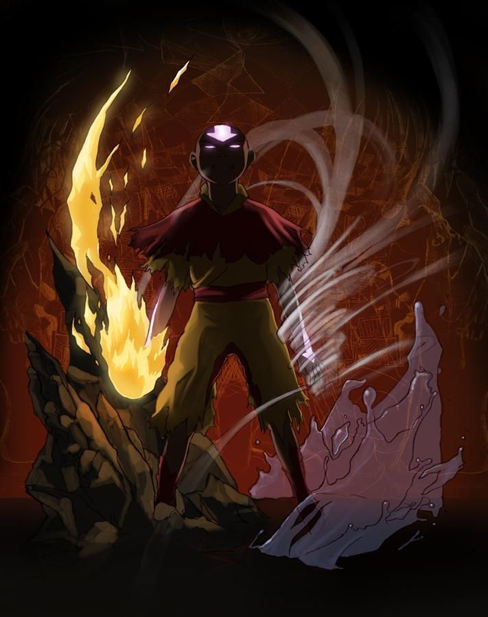 Aang Fan Art 1 With Images Avatar Aang Avatar The Last