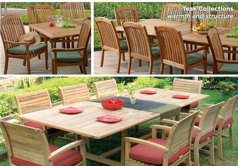 Outdoor Teak Furniture Patio Furniture Fortunoff Teak