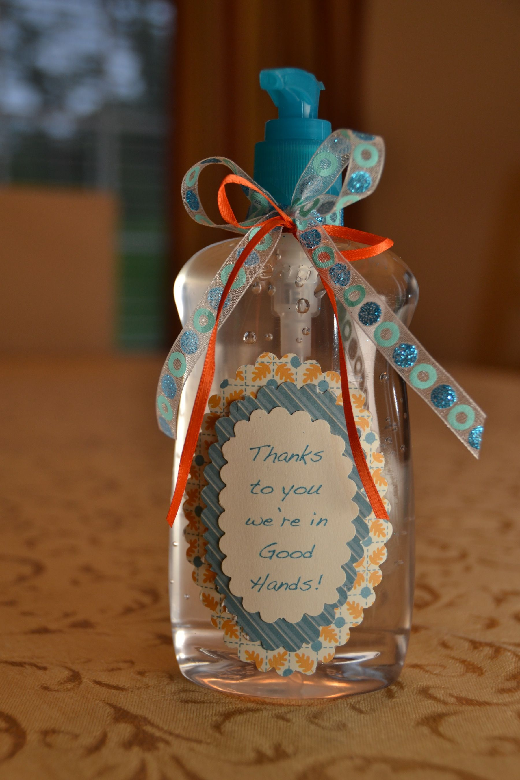 Teacher Hand Sanitizer Gift Back To School Gifts For Teachers