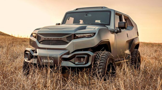 Rezvani Tank Is A Military Style Off Road Capable Suv For 178 000 With Images Suv Sport Utility Vehicle Vehicles