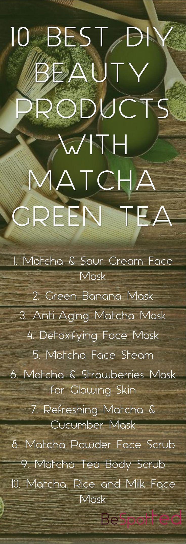 DIY Matcha Face Mask 10 Best Recipes with Matcha Green