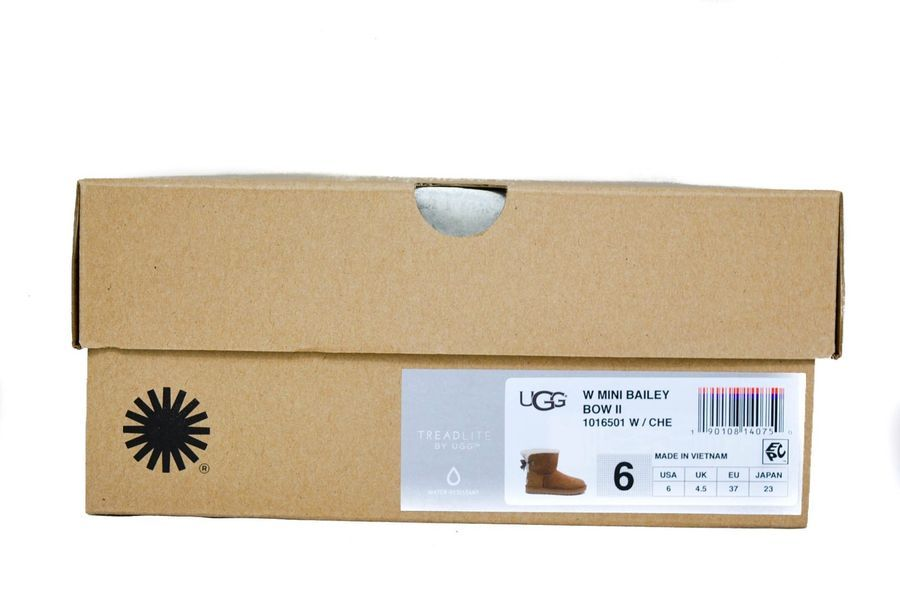 dce19f10173 UGG Australia Women's Mini Bailey Bow Boots II Chestnut Sz 5-11 NEW ...
