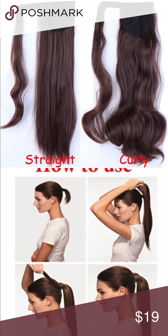 23 Curly Natural Hair Extensions Ponytail My Posh Closet
