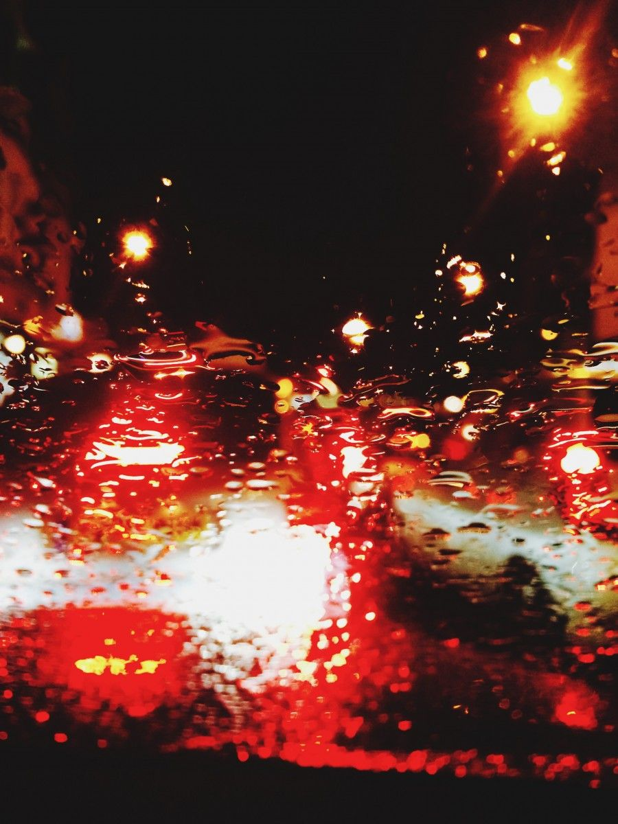 365 30.11.15 rain drop traffic lights | HPMcQ